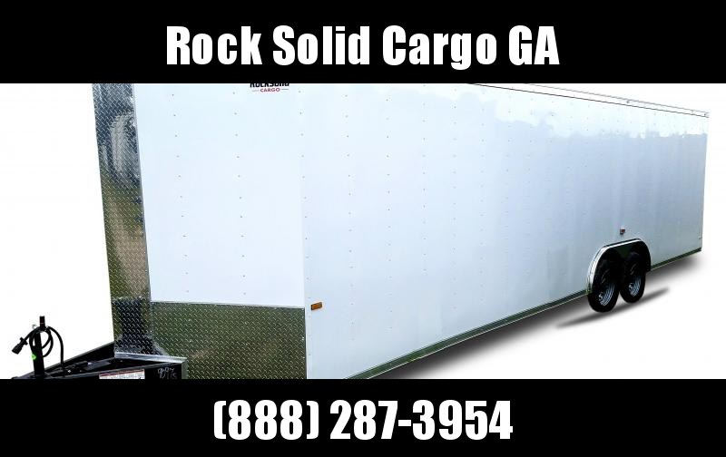 2021 Rock Solid Cargo 8.5 x28 TA Enclosed Cargo Trailer