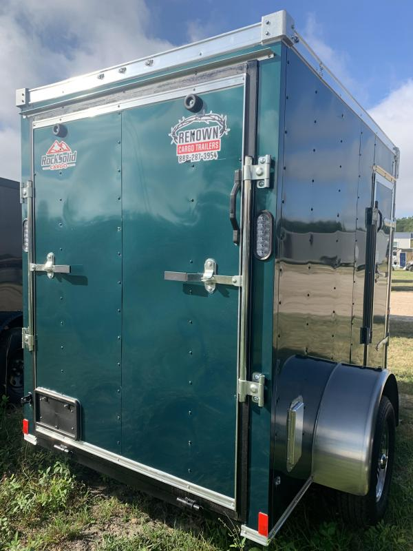 2021 Rock Solid Cargo 5 x 8 SA Enclosed Cargo Trailer