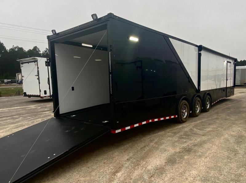 2021 Rock Solid Cargo 8.5X36 Triple Axle Enclosed Cargo Trailer Car / Racing Trailer