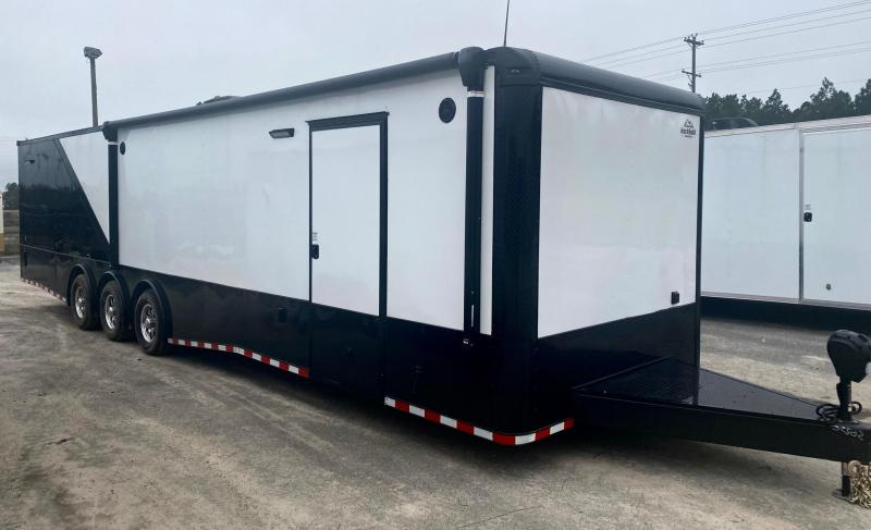 2021 Rock Solid Cargo 8.5X36 Triple Axle Enclosed Cargo Trailer Car / Racing Trailer