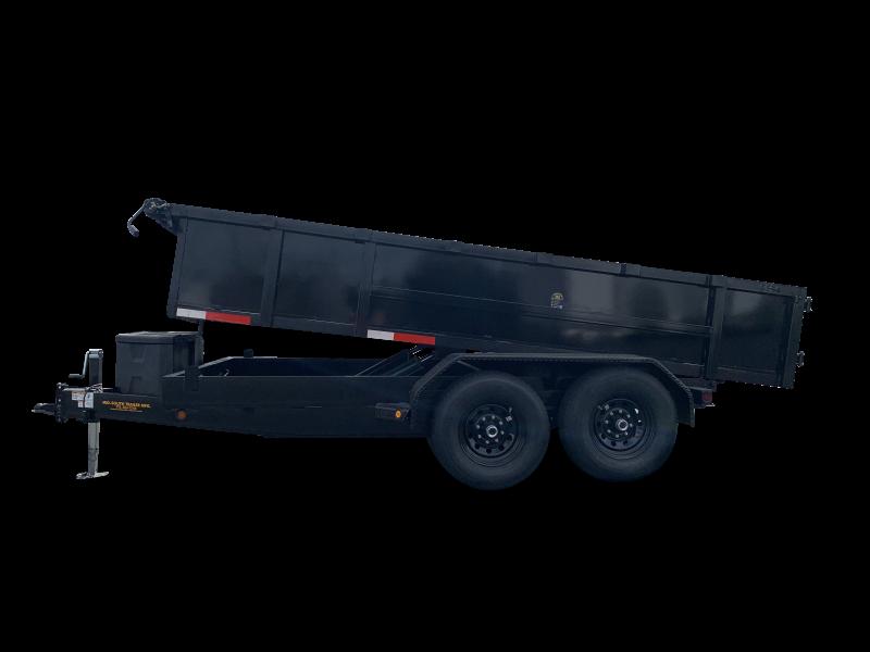 2022 MidSouth 7x14 TA Dump Trailer