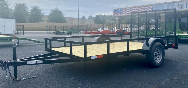 2021 New Generation Trailers 6X12SA Open Utility Trailer Utility Trailer