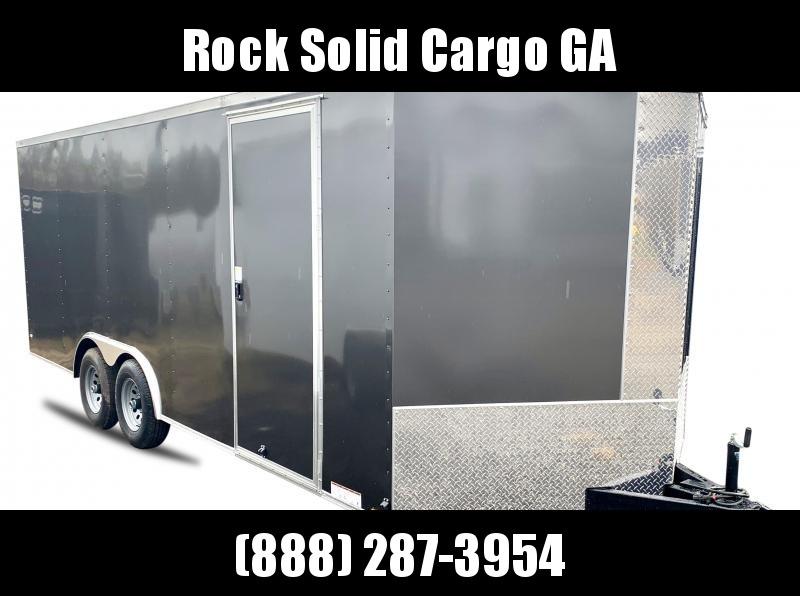 2021 Rock Solid Cargo 7 x 24 TA Enclosed Cargo Trailer