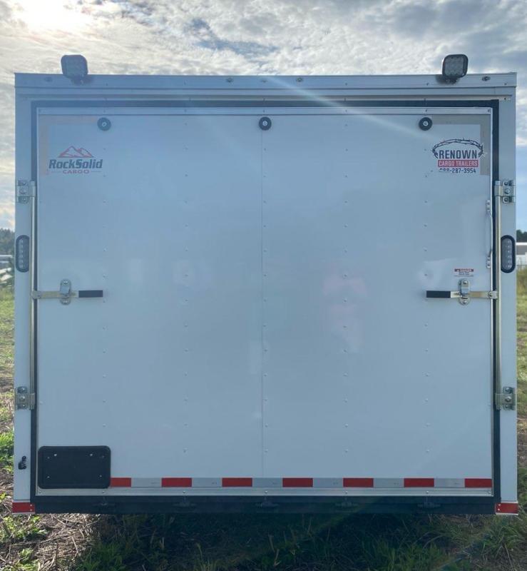 2021 Rock Solid Cargo 8.5 x 36 Triple Axle Enclosed Cargo Trailer / Racing Trailer