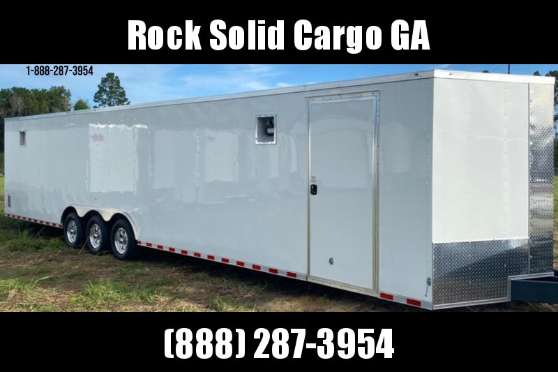 2021 Rock Solid Cargo 8.5 x 36 Triple Axle Enclosed Cargo Trailer / Racing Trailer