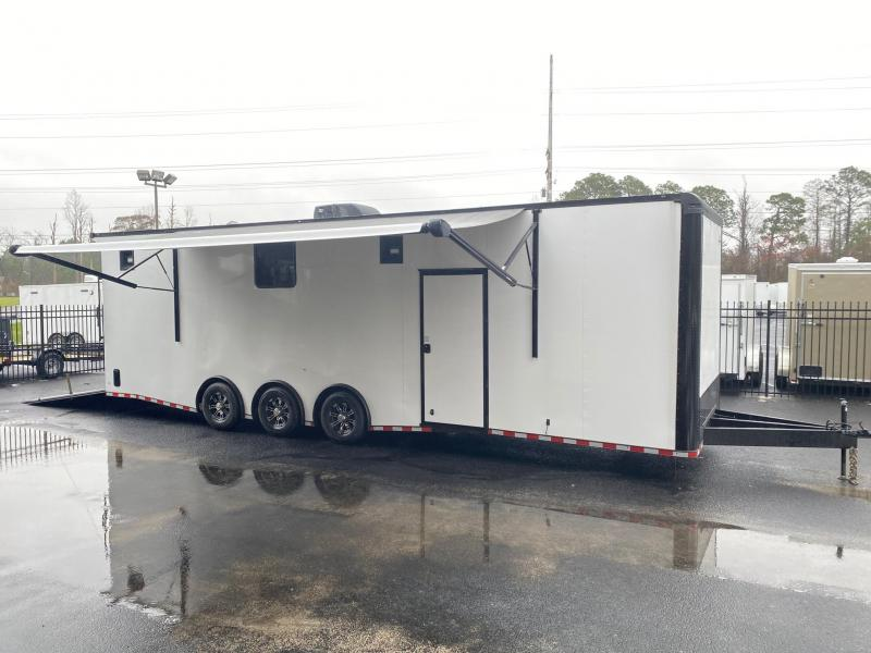 2021 Rock Solid Cargo 8.5X32 Triple Axle Enclosed Cargo Trailer Enclosed Cargo Trailer