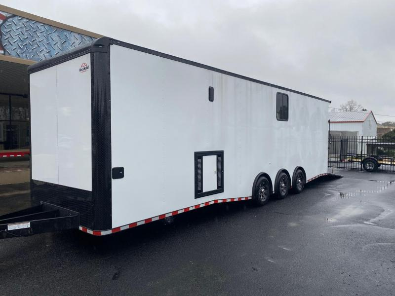 2021 Rock Solid Cargo 8.5X32 Triple Axle Enclosed Cargo Trailer Enclosed Cargo Trailer