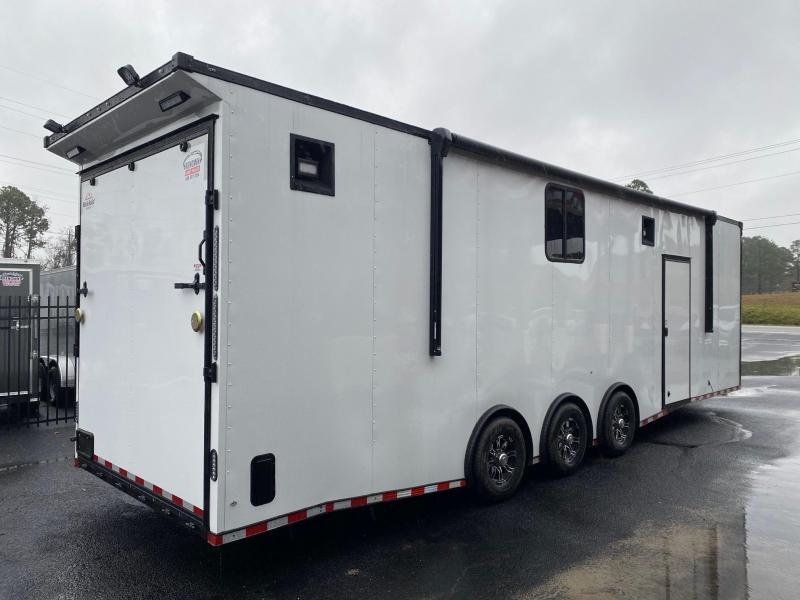 2022 Rock Solid Cargo 8.5X32 Triple Axle Enclosed Cargo Trailer Enclosed Cargo Trailer