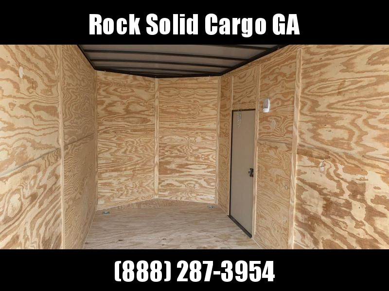 2021 Rock Solid 7X16 TA Enclosed Cargo Trailer