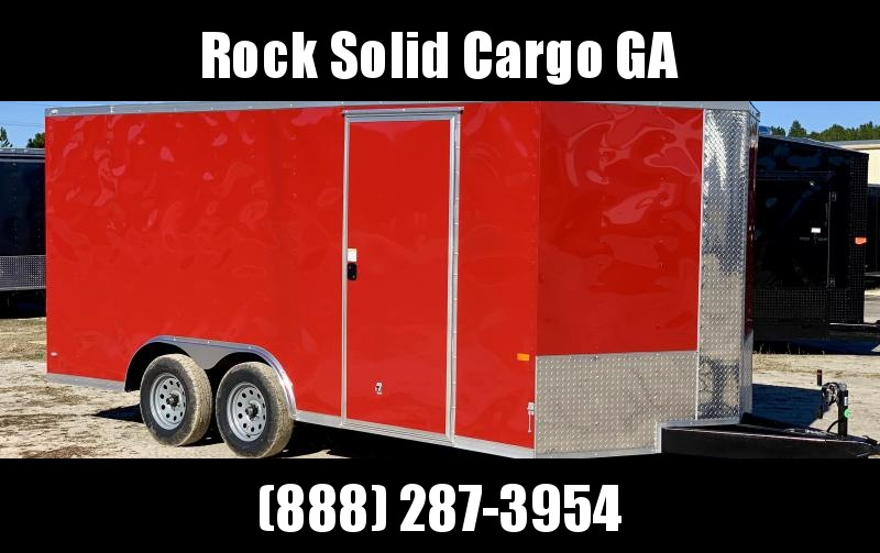 2021 Rock Solid Cargo 8.5 x 16 TA Enclosed Cargo Trailer
