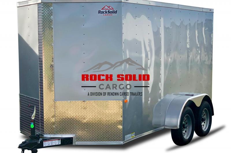 2021 Rock Solid Cargo 6 x 12 TA Enclosed Cargo Trailer