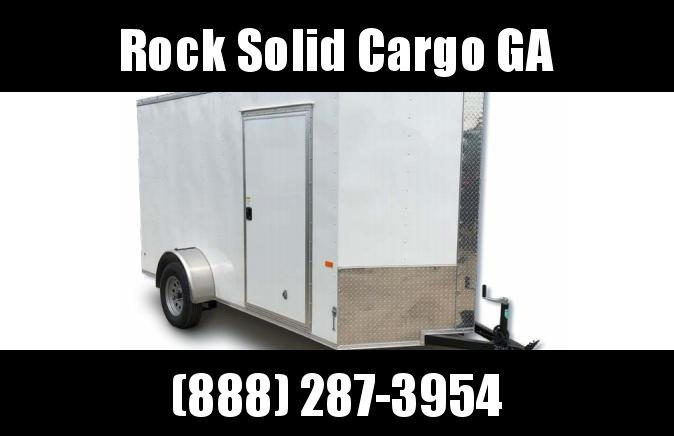 2021 Rock Solid Cargo 4 x 6 SA Enclosed Cargo Trailer