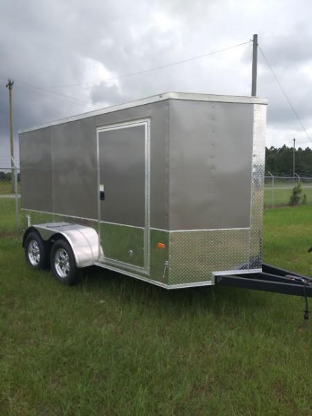 2021 Rock Solid 6X12 TA Enclosed Cargo Trailer