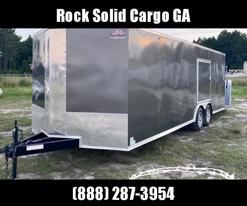 2022 Rock Solid 8.5X24 Enclosed Cargo Trailer / Racing Trailer