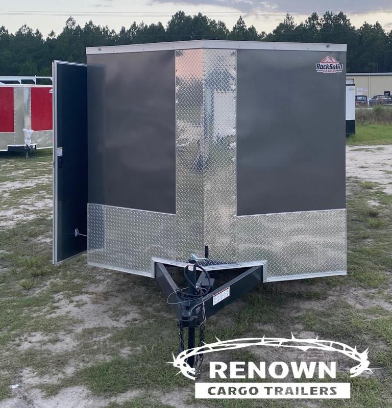 2021 Rock Solid 8.5X24 Enclosed Cargo Trailer / Racing Trailer