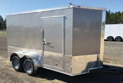 2021 Rock Solid Cargo 6 x 14 TA Enclosed Cargo Trailer