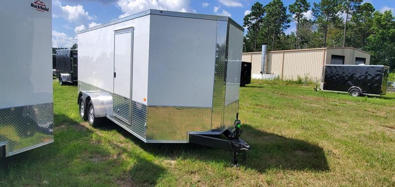 2021 Rock Solid 7X16 TA Enclosed Cargo Trailer / Motorcycle Trailer
