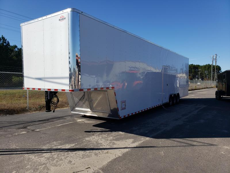 2021 Rock Solid Cargo 8.5x44 Gooseneck Enclosed Cargo Trailer
