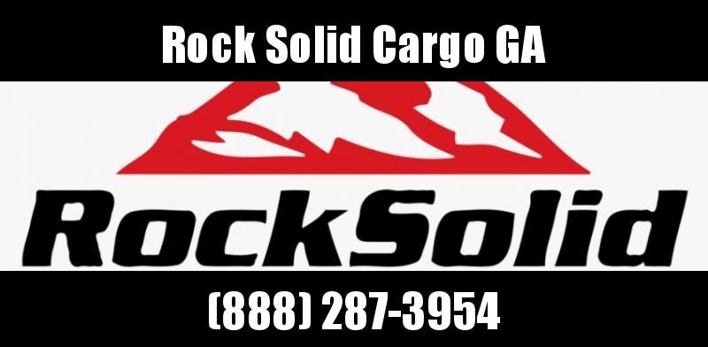 2021 Rock Solid Cargo 8.5 x 20 TA Enclosed Cargo Trailer w/ 5200 lb. Axles