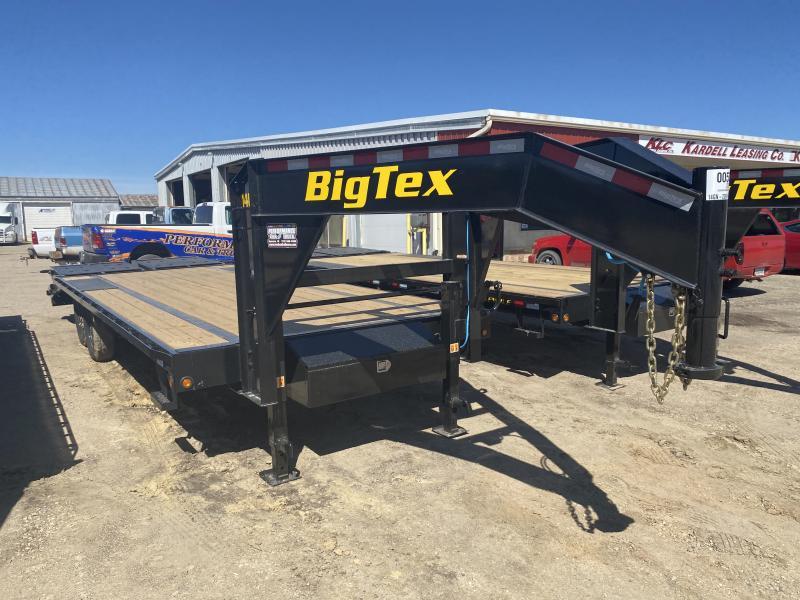 2021 BIG TEX 14GN 20'+5' GOOSENECK TRAILER