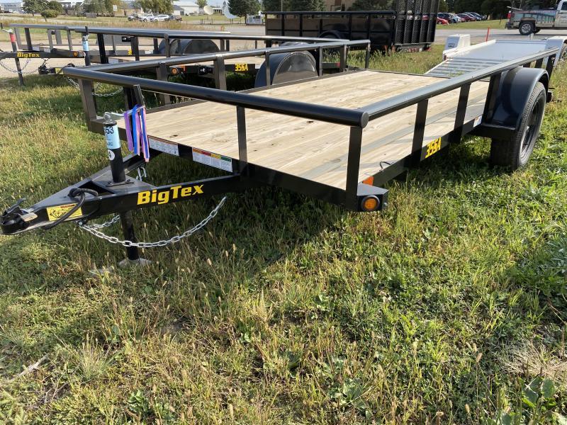 "2021 Big Tex Trailers 35SA 77"" X 12' Utility Trailer"