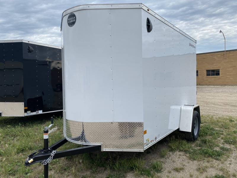 2021 Wells Cargo 6' X 10' Enclosed Cargo Trailer