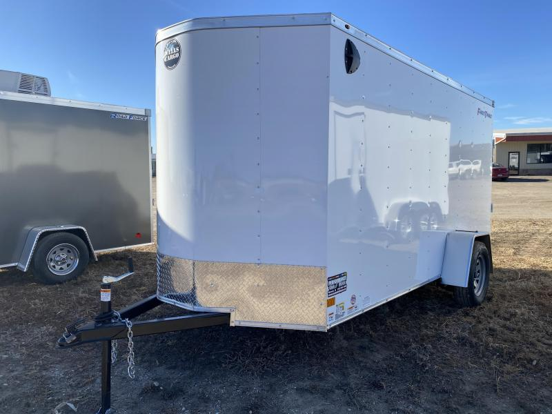 2021 Wells Cargo 6x12 Enclosed Cargo Trailer