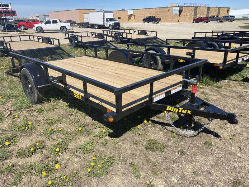"2021 BIG TEX 35SA 77""X12' UTILITY TRAILER"