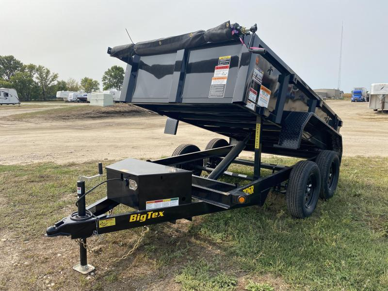 "2021 Big Tex Trailers 70SR 60"" X 10' Dump Trailer"