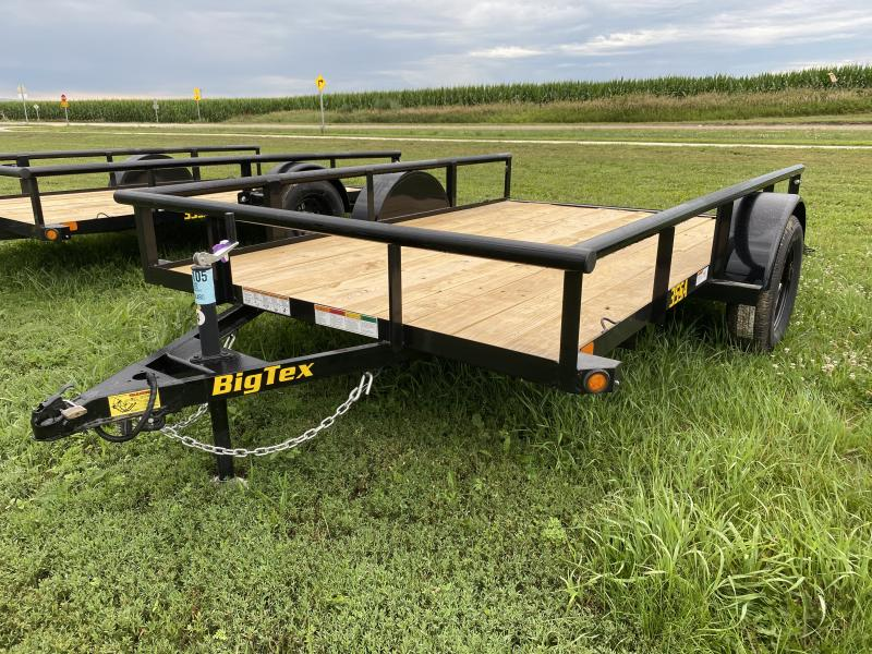 2021 Big Tex Trailers 35SA 77'' X 10' Utility Trailer