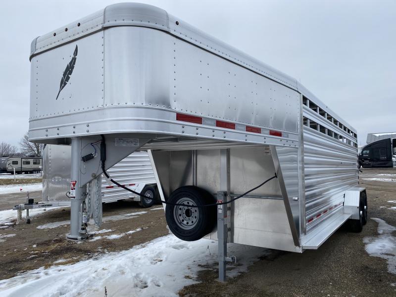 2020 Featherlite 67 X 20' Livestock Trailer