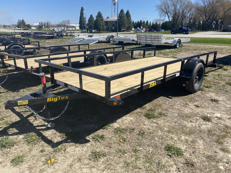 "2021 BIG TEX 35SA 77""X14' UTILITY TRAILER"