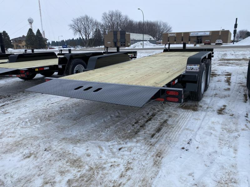 2021 Behnke 22' Tilt Equipment Trailer