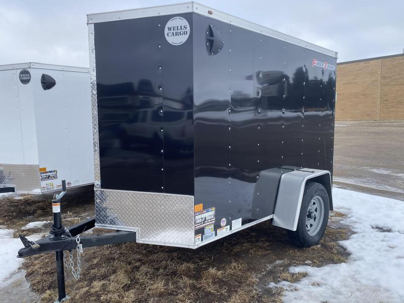 2021 Wells Cargo 5' X 8' Enclosed Cargo Trailer