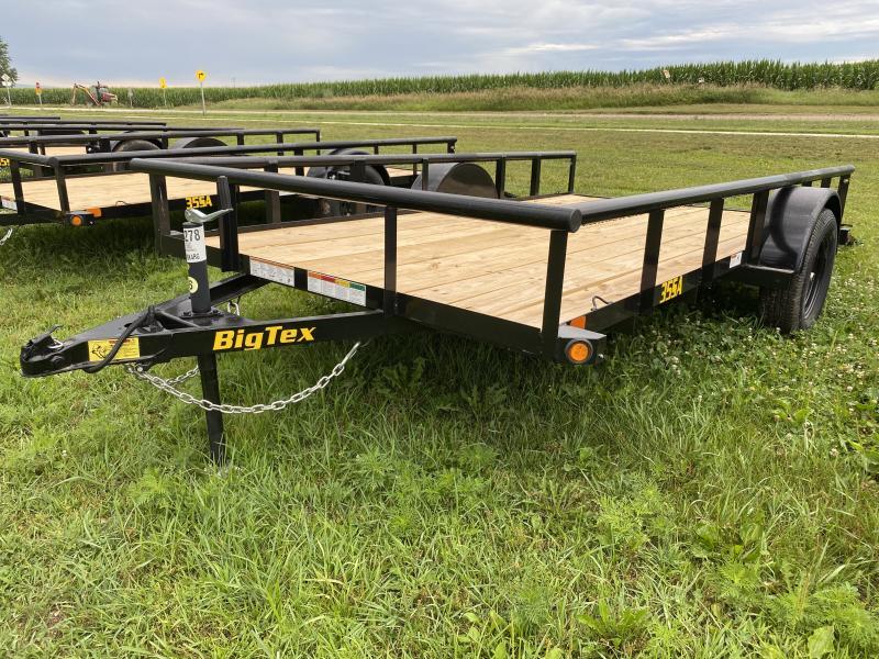 2021 Big Tex Trailers 35SA 77'' X 12' Utility Trailer
