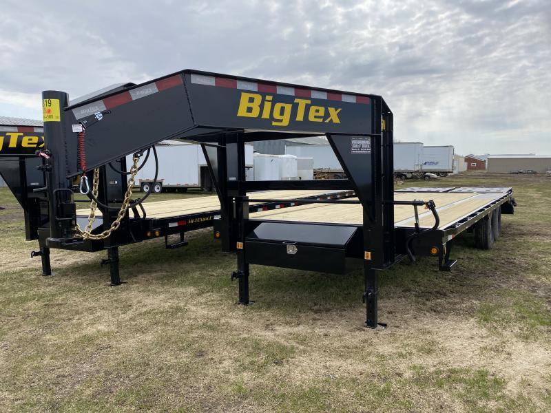 """2020 Big Tex Trailers 102"""" X 25' Flatbed Trailer"""