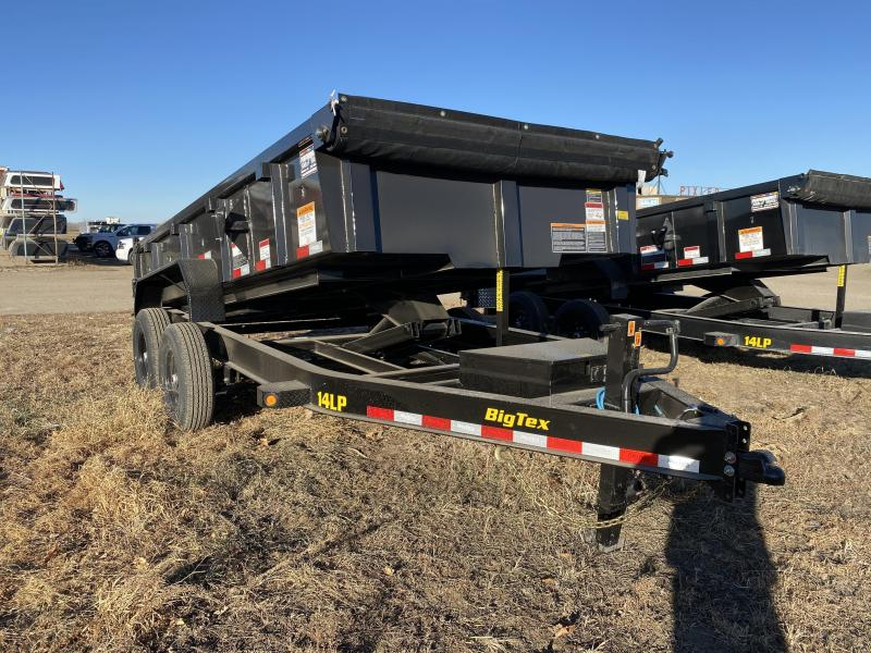 "2021 Big Tex Trailers 83"" X 14' Dump Trailer"