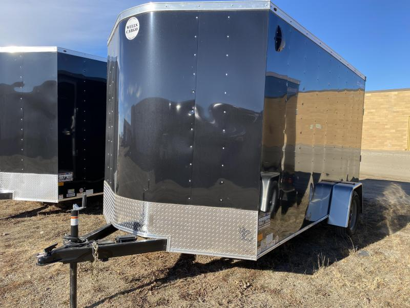 2021 Wells Cargo FT 7' X 12' Enclosed Cargo Trailer