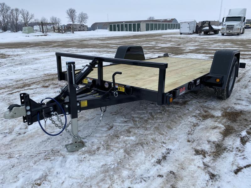 2021 Behnke 14' Tilt Bed Utility Trailer