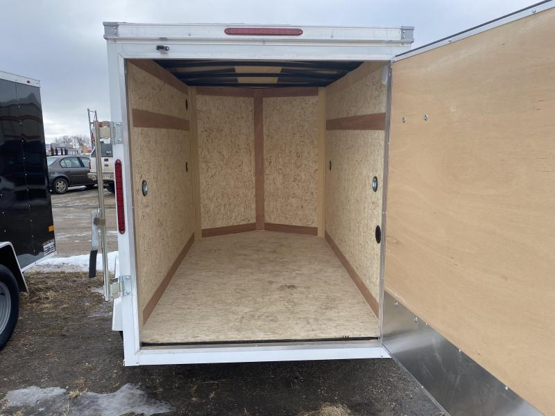 2021 Wells Cargo 5' X 8' Enclosed Cargo Trailer