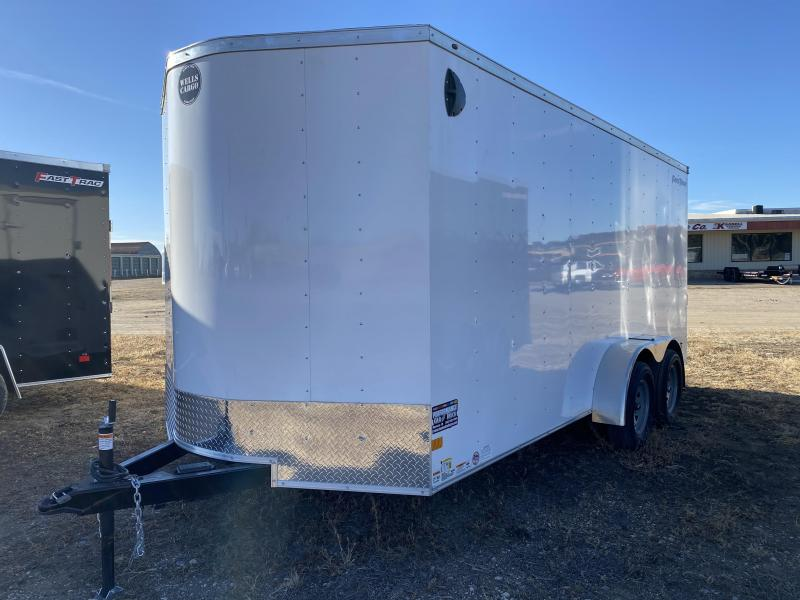 2021 Wells Cargo FT 7' X 16' Enclosed Cargo Trailer