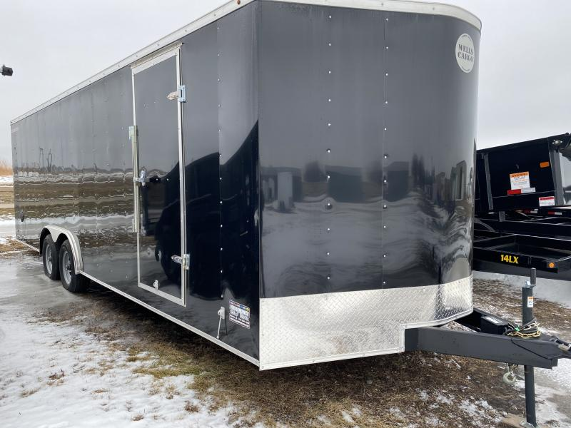 2019 Wells Cargo 8'6 X 24' Enclosed Cargo Trailer
