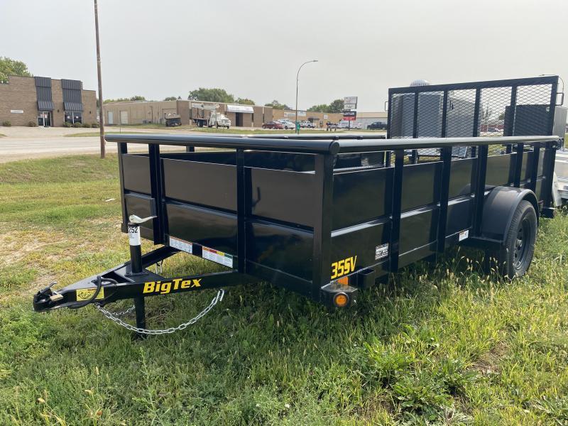 """2021 Big Tex Trailers 35SV 77"""" X 12' Utility Trailer"""