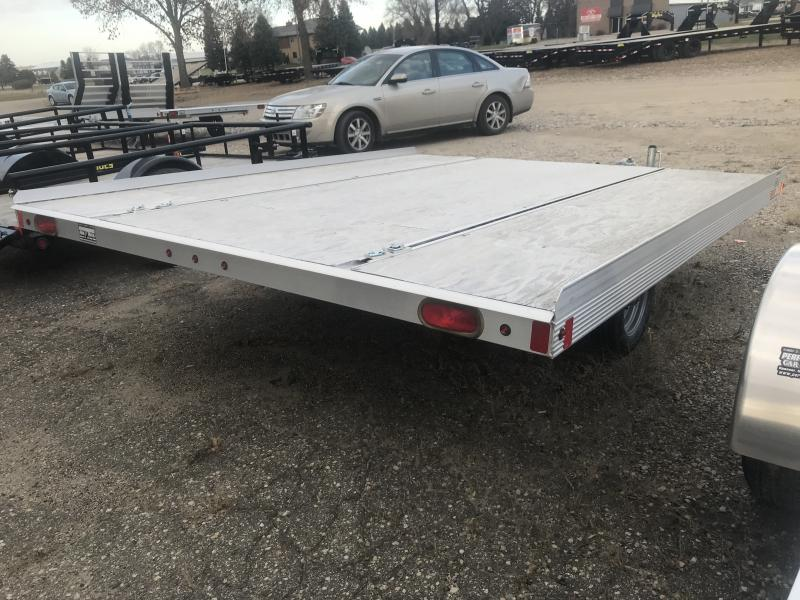 2017 SNOPRO 8.5' X 10' OPEN SNOWMOBILE TRAILER