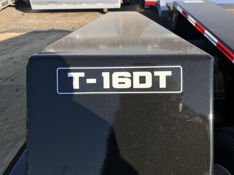 2020 Towmaster  T16DT Equipment Trailer
