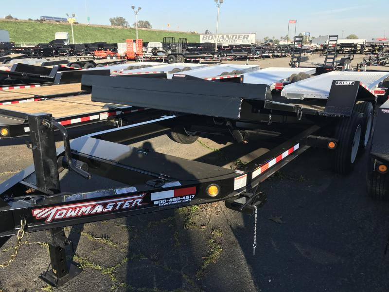 2020 Towmaster Trailers T-16DT Equipment Trailer