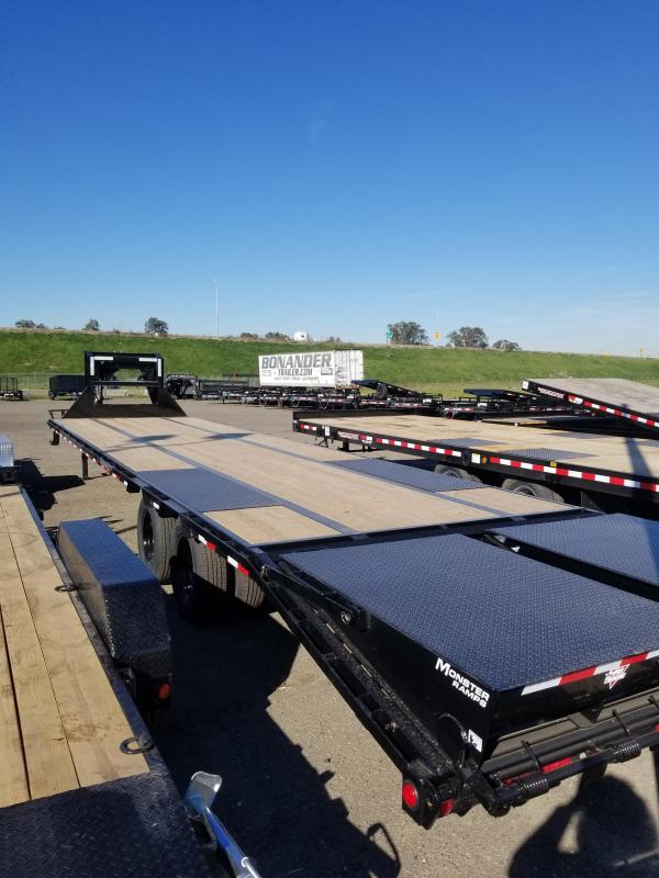 2021 PJ Trailers LD-35 Low-Pro Flatdeck with Duals Flatbed Trailer