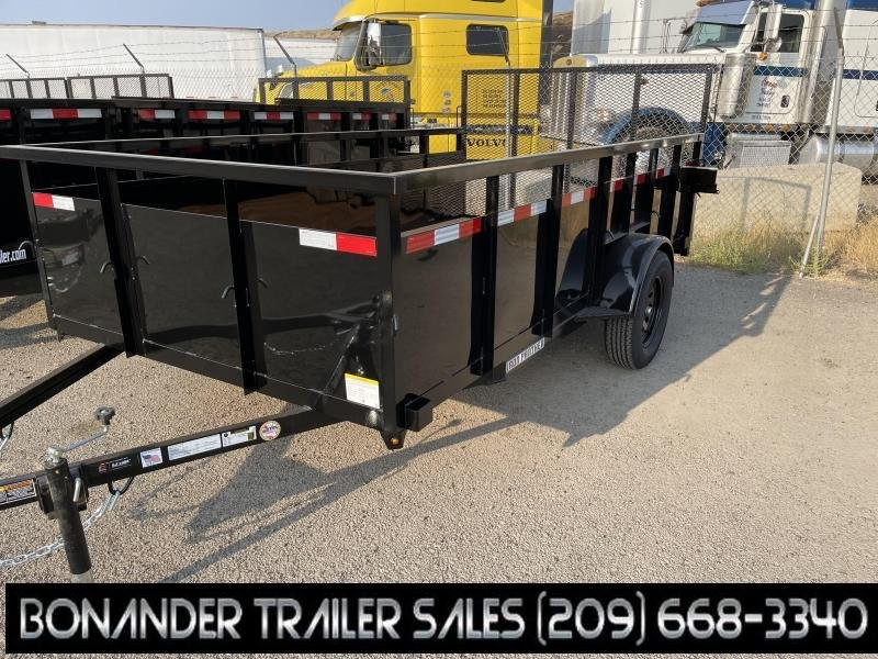 2021 Iron Panther LT046 6.5X12 3K CL Utility Trailer