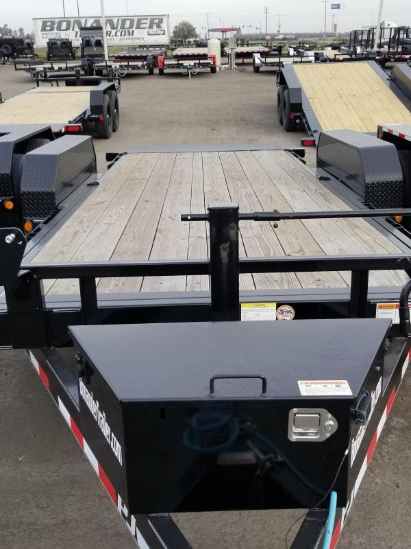 2020 PJ Trailers Powered Full Tilt (TF) Equipment Trailer