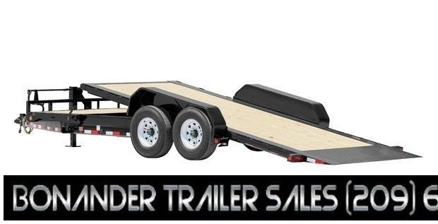 2022 PJ Trailers HD Equipment 13' SINGLE AXLE TILT Equipment Trailer